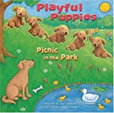 Playful Puppies: Picnic in the Park [With 5 Furry Puppies]