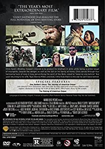 American Sniper (Special Edition) from Warner Home Video
