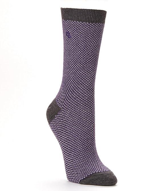 Contrast Birdseye Trouser Socks