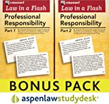 Law in a Flash Professional Responsibility: AspenLaw Studydesk Bonus Pack (Print and Access Card Bundle)