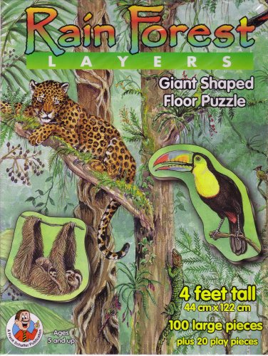 Picture of Frank Schaffer A Frank Schaffer Pub. - Rain Forest Layers (B000WR342C) (Floor Puzzles)