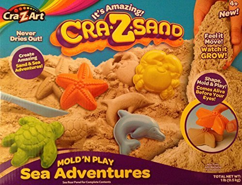 It's Amazing! Cra-Z-Sand Mold 'N Play Sea Adventures - Cra Z Art Kids Sand & Sea Fun Toy Kit - 1