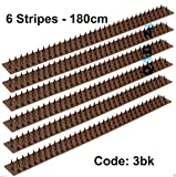 Anti Climb Fence Wall Spikes / Intruders Gates Sheds (6 Strips - 180 cm)