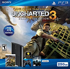 PS3 250GB Uncharted 3: Game of the Year Bundle from Sony