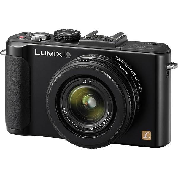 Panasonic Lumix DMC-LX7 Digital Camera (Black) + 8GB SDHC Memory Card (Color: Black)