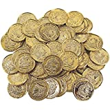 Plastic Gold Coins (144 Count)
