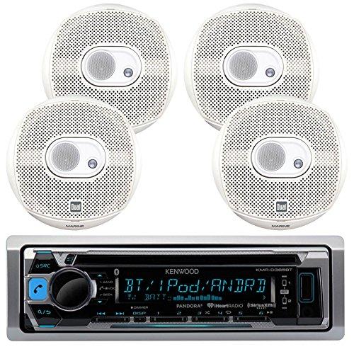 Kenwood Bluetooth Marine Radio KMR-D365BT Car ATV CD/MP3 USB iPod iPhone Pandora Player 4 6.5