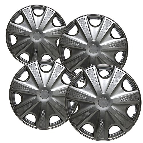 OxGord Hubcaps for 2003-2004 Honda Accord | Set of 4 Pack 15