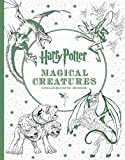img - for Harry Potter Magical Creatures Coloring Book book / textbook / text book