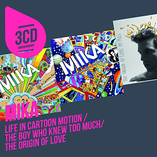 3cd Originaux : Life in Cartoon Motion / the Boy Who Knew Too Much / the Origin of Love