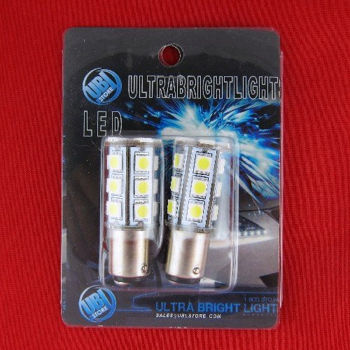 Ubl© 21-Led 1157 Car Turn Signal / Brake / Tail Lights 6000K Bright White