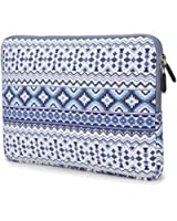 Coodio® ShockProof 27,9-29,5 cm (11-11,6 pouces) Etui de Protection Housse Pochette Sac Four Ordinateur Portable Apple Macbook Air 11, Chromebook 11 - Bohémien Bleu