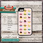 iPhone 4/4s TOUGH Case Cupcakes Design - Cover 155