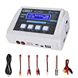 HTRC LiPo Charger RC Battery Balance Discharger 150W 10A 1-6S AC/DC C150 for NiCd Li-ion Life NiMH LiHV PB Smart Battery (White) (Color: White)