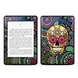 Sugar Skull Paisley Design Protective Decal Skin Sticker for Amazon Kindle Paperwhite eBook Reader (2-point Multi-touch)