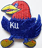 "NCAA Kansas City JAYHAWKS Mascot 2"" Tall Embroidered PATCH at Amazon.com"