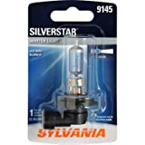 SYLVANIA 9145 SilverStar High Performance Halogen Fog Bulb, (Contains 1 Bulb) (Color: White)