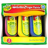 My First Crayola/Mini Kids 3 Washable Finger Paints