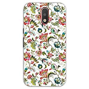Happygrumpy Printed Cover Back For Motorola Moto G 4 Plus (4Th Generation)