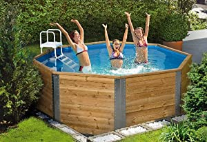 weka pool togo 1 komplett set 90 cm hoch garten. Black Bedroom Furniture Sets. Home Design Ideas