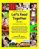 Let's Read Together: Colors, Clothing, and Eating (Sight Words in Context Series Book 1)