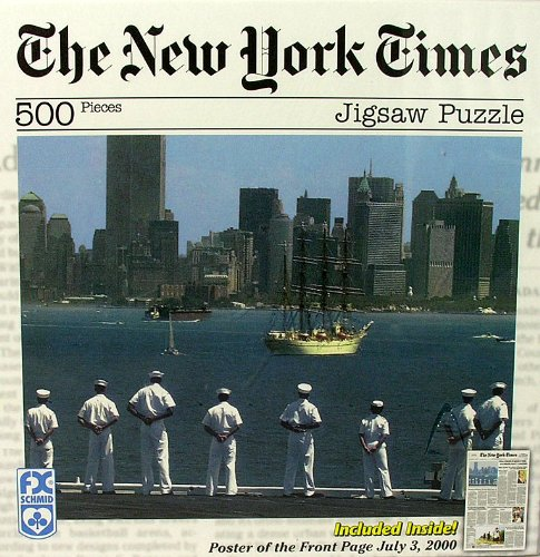 FX Schmidt The New York Times: OpSail 2000 (7/2/00) 500 Piece Jigsaw Puzzle