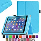 Fintie E FUN Nextbook 7.85 (Nextbook 8) Tablet 8GB Memory Quad Core 2014 Release Model NX785QC8G Folio Case - Premium Leather Cover With Stylus Holder 3 Years Warranty [NOT FIT Premium 8HD] - Blue