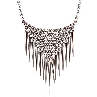 2*2.2cm Hosaire 1X Broche Strass en forme Joli Fleur avec Perle Artificielle Broche Femme-Argent