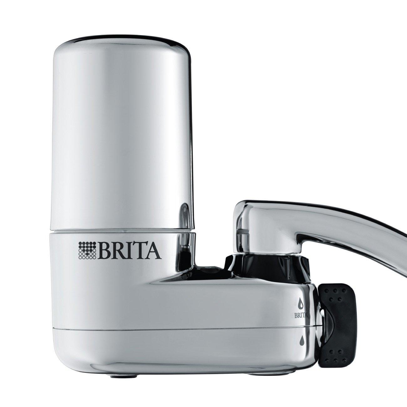 new brita water kitchen counter sink filtration system tap