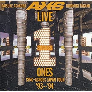 LIVE ZEROS ONES SYNC-ACROSS JAPAN TOUR '93 ...