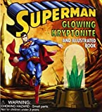 img - for Superman: Glowing Kryptonite and Illustrated Book (Mega Mini Kits) book / textbook / text book