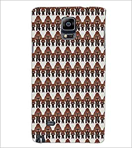 PrintDhaba Elephant Pattern D-5904 Back Case Cover for SAMSUNG GALAXY NOTE 2 (Multi-Coloured)