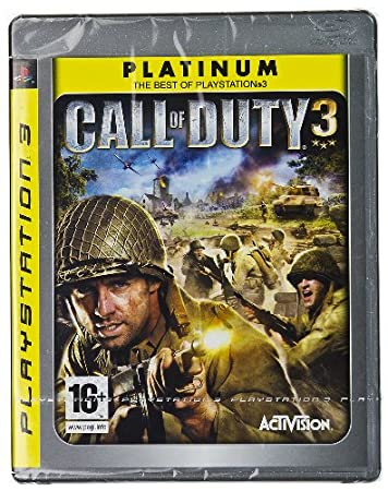 Call of Duty 3 (Pal & Hd Version) - Ps3 Platinum Edition (Uk Version)