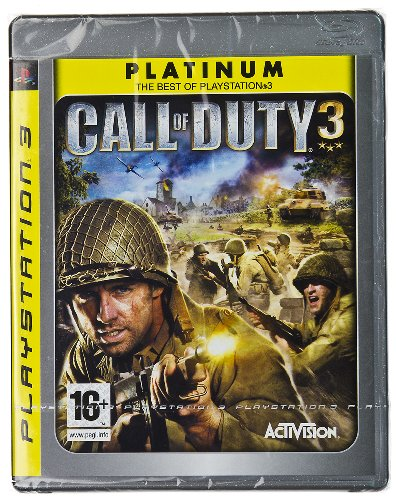 call of duty 3 ps3. Call of Duty 3 (Pal amp; Hd