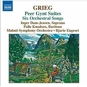 6 Orchestral Songs, EG 177: No. 6. Norge, Op. 58: No. 3. Henrik Wergeland