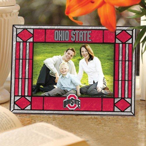Memory Company Ohio State Buckeyes Glass Horizontal Photo Frame