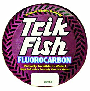 Trik Fish Fluorocarbon Leader, 30-Pound by Trik Fish