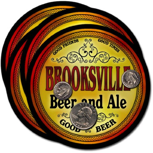 Brooksville Beer & Ale Coasters