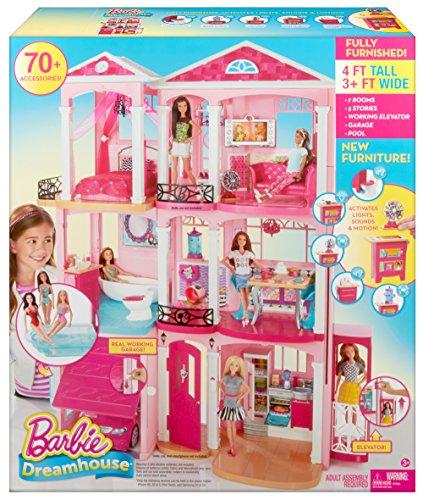 barbies neues haus die barbie traumvilla. Black Bedroom Furniture Sets. Home Design Ideas