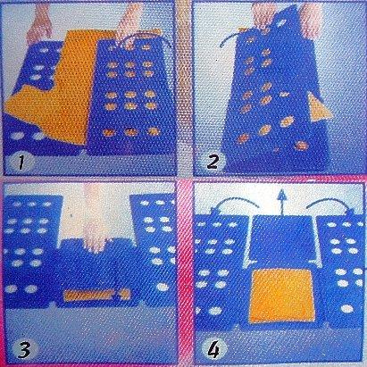 Opiniones de tabla de doblar medidas 59 x 69 cm color - Tabla para doblar camisetas ...