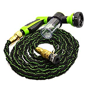 Cleeacc New Garden Water Hose Brass 150 Ft