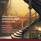 Flemish Connection V, Arthur de Greef, Orchestral Works