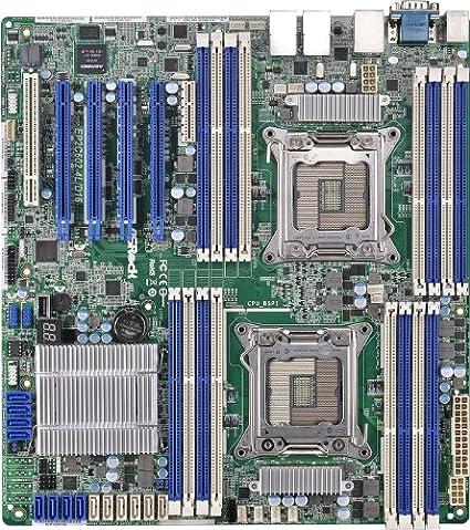 ASRock EP2C602-4L/D16 Carte-mère pour serveur avec Socket 2011, Intel C602, DDR3, S-ATA 600, SSI EEB