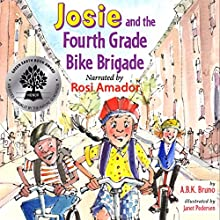 Josie and the Fourth Grade Bike Brigade: Josie Goes Green, Book 1 (       UNABRIDGED) by Beth Handman, Kenny Bruno, Antonia Bruno Narrated by Rosi Amador