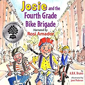 Josie and the Fourth Grade Bike Brigade Audiobook