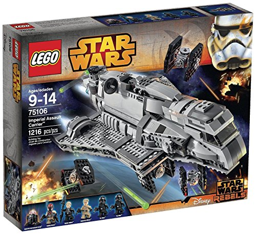 LEGO Star Wars Imperial Assault Carrier 75106 Building Kit (Lego Star Imperial compare prices)
