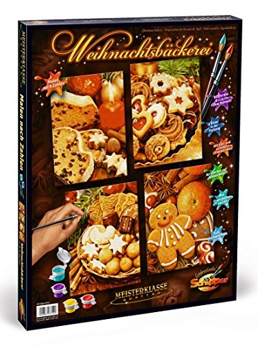 Schipper Christmas Bakery Paint-by-Number Kit