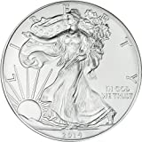 2014 No Mint Mark 2014 Silver American Eagle BU Dollar US Mint Uncirculated