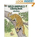 Wild Animals Colouring Book (Dover Na...
