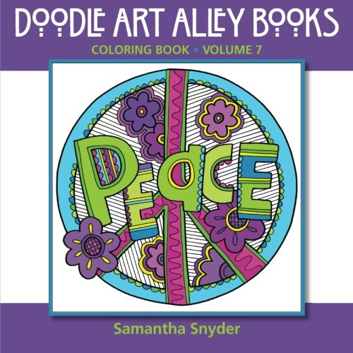 Peace: Coloring Book (Doodle Art Alley Books) (Volume 7) PDF